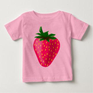 Gullig och söt jordgubbe tröja