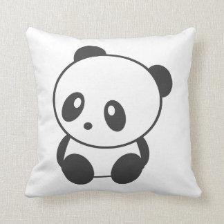 Gullig panda kudde