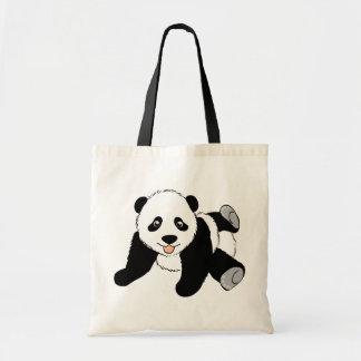 Gullig Pandabjörn Tygkasse