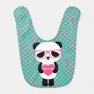 Gullig Pandafödelsedag Hakklapp