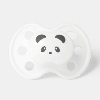 Gullig pandanappar napp