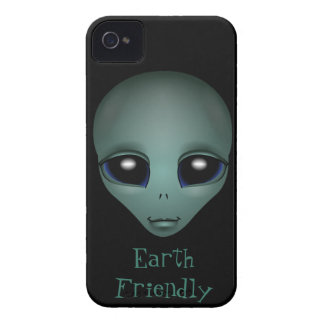 Gullig personlig E.T. Fodral för främmande blackbe iPhone 4 Cases