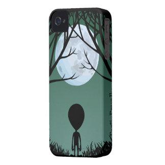 Gullig personlig E.T. Fodral för främmande blackbe Case-Mate iPhone 4 Fodral