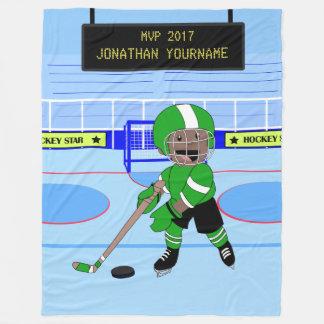 Gullig personligishockeystjärna