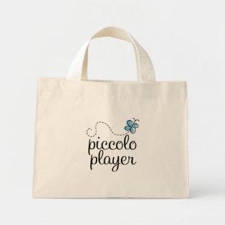 Gullig Piccolo spelaremusik hänger lös Mini Tygkasse