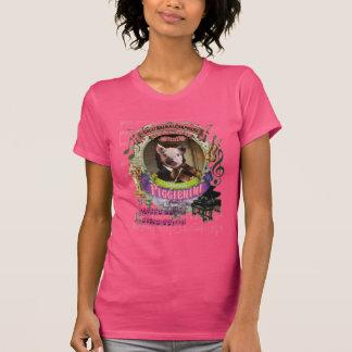 Gullig Piggienini djur kompositör Paganini T-shirt