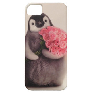 Gullig pingviniphone case iPhone 5 cover