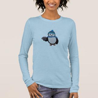 Gullig pingvinskjorta tee shirts