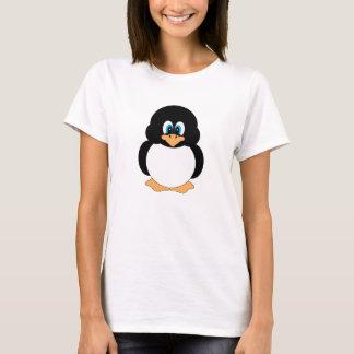 Gullig pingvinskjorta tröjor