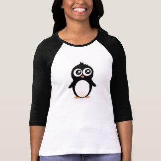 Gullig pingvintecknad tshirts