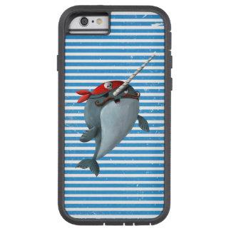 Gullig pirat Narwhal Tough Xtreme iPhone 6 Fodral