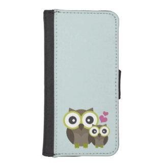 Gullig plånbok för ugglaiPhone 5