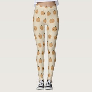 Gullig pumpa leggings