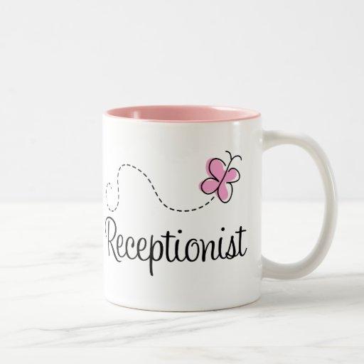 Gullig Receptionistmugg Kaffe Mugg