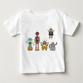 Gullig Retro robotungeT-tröja T Shirts