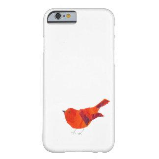 Gullig röd fågel barely there iPhone 6 skal