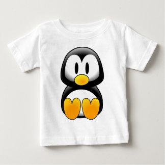 Gullig rolig babypingvin tshirts
