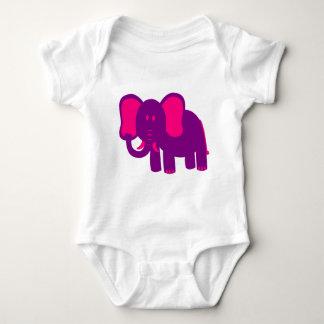 Gullig rolig elefant tröja