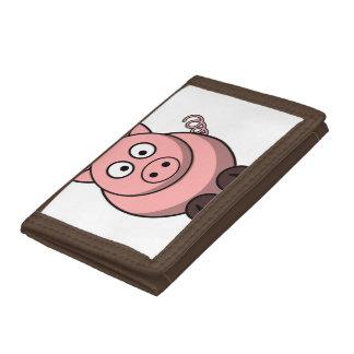 Gullig rolig gris