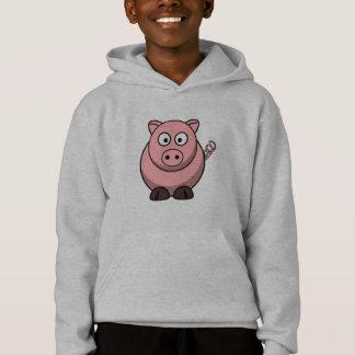 Gullig rolig gris t shirts