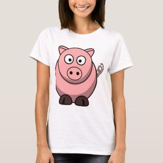 Gullig rolig gris t-shirts