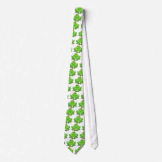 Gullig rolig groda slips