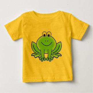 Gullig rolig groda t shirts