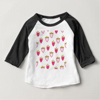 Gullig rosa jordgubbe tröjor