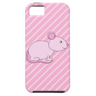 Gullig rosa mus iPhone 5 cases