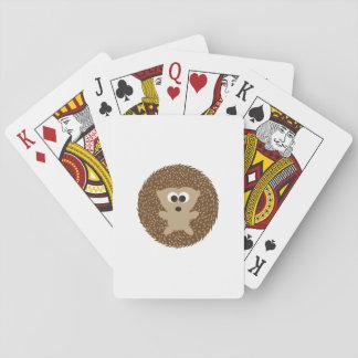 Gullig rundaigelkott spelkort