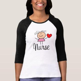 Gullig sjuksköterskautslagsplats tröjor