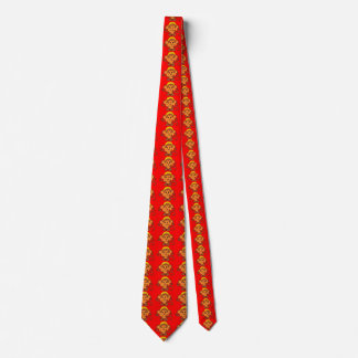 Gullig skämtsam apa slips