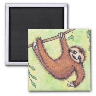 Gullig Sloth Magnet
