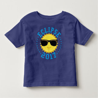 Gullig solförmörkelse 2017 tee shirt