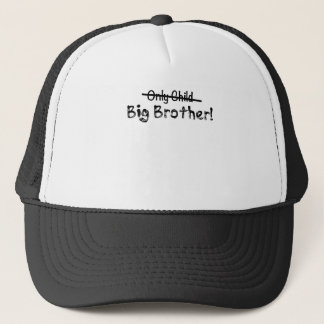 Gullig storebror (endast barn som ut korsas) och truckerkeps