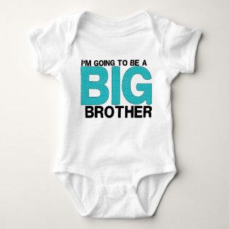 Gullig storebror för baby tee shirts