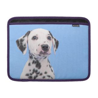 Gullig svartvit dalmatian valp MacBook air sleeves
