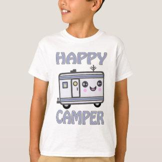 Gullig T-tröja för barn för Kawaii lycklig Tröjor