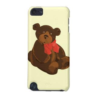 Gullig tecknadbjörn iPod touch 5G fodral