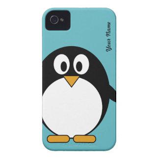 Gullig tecknadpingvin - björnbäret täcker iPhone 4 Case-Mate fodral