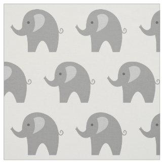 Gullig textil för tyg DIY för grå