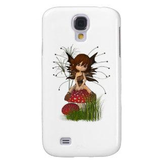 Gullig Toon höstfe och giftsvamp Galaxy S4 Fodral