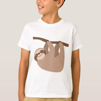 Gullig Tre-Toed Sloth T Shirts