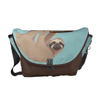 Gullig Tre-Toed Slothmessenger bag