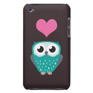 Gullig uggla- & kärlekhjärta Case-Mate iPod touch skydd