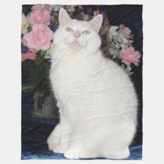 Gullig ullfilt/gullig kattullfilt fleecefilt