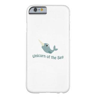 Gullig Unicorn av havet Barely There iPhone 6 Skal
