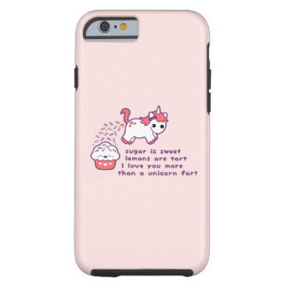 Gullig Unicornfis Tough iPhone 6 Case
