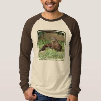 Gullig uttermanar T-tröja för långärmad T Shirt