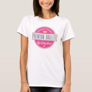 Gulliga äktaa kvinna för vintagegudmorlogotyp t shirts